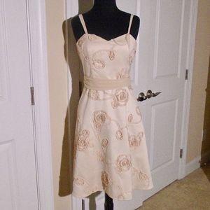 WHBM Poly Chiffon Convertible Strap Party Dress 2